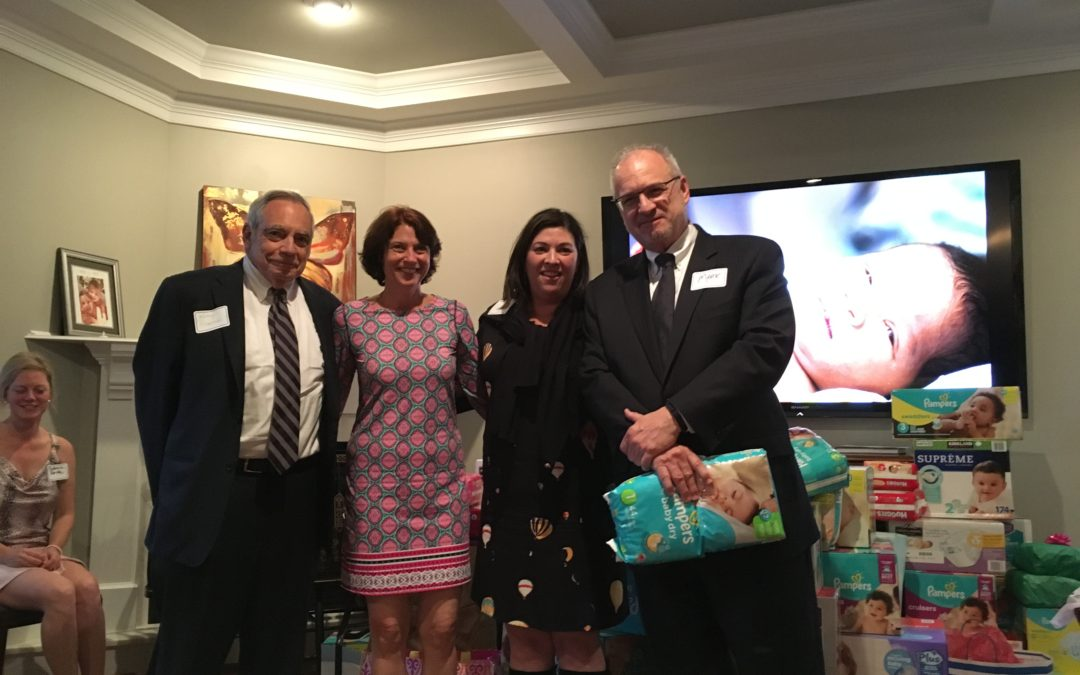 Vicky Collins Charitable Foundation Donates to Basics for Babies
